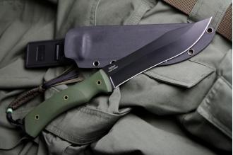 Нож Safari (AUS-8, Black) Kizlyar Supreme