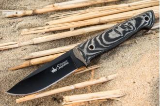 Нож Santi (D2, Black) Kizlyar Supreme, Россия