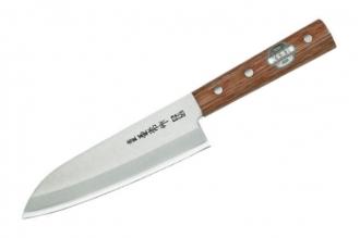 Нож Santoku 165 мм (Shiro2 / SUS410) Kanetsune Seki