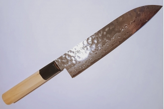 Нож Сантоку 180 мм Hammered 07252 Sakai Takayuki, Япония