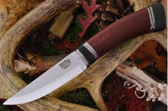 Нож Scandi CPM-3V, красная микарта