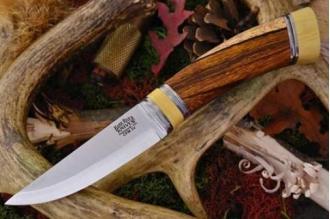 Нож Scandi CPM-3V, рукоять - железное дерево, кость