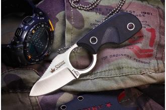 Нож шейный Amigo X (D2, Satin) Kizlyar Supreme, Россия