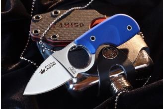 Нож шейный Amigo Z (AUS-8, Satin) Kizlyar Supreme