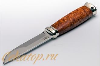 «Швед» сталь K110, орех Лебежь