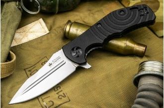 Складной нож Bloke Z (D2 Stonewash) Kizlyar Supreme
