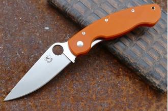 Нож складной «Боец-4» (orange) Steelclaw, КНР