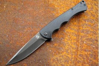 Нож складной Черная лиса Steelclaw, КНР