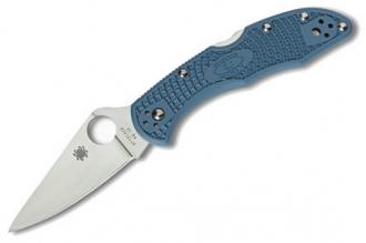 Складной нож Delica 4 Lightweights (VG-10, Blue FRN) Spyderco