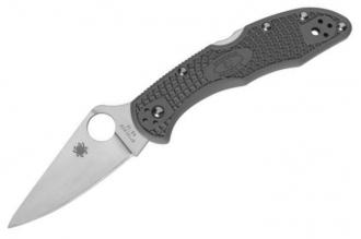 Складной нож Delica 4 Lightweights (VG-10, Gray FRN) Spyderco