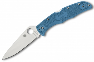 Складной нож Endura 4 Lightweights (VG-10, Blue FRN) Spyderco