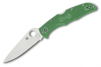 Складной нож Endura 4 Lightweights (VG-10, Green FRN) Spyderco