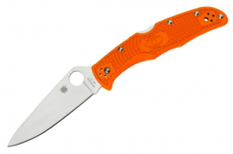 Складной нож Endura 4 Lightweights (VG-10, Orange FRN) Spyderco