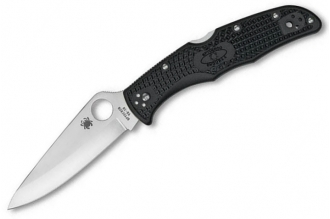 Складной нож Endura 4 P (VG-10, Black FRN) Spyderco