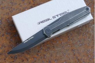 Нож складной G3 «Puukko» (blackwash) Real Steel, КНР