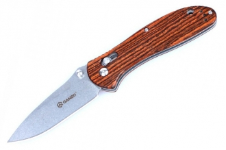 Нож складной G7392-WD1 (wood) Ganzo, КНР