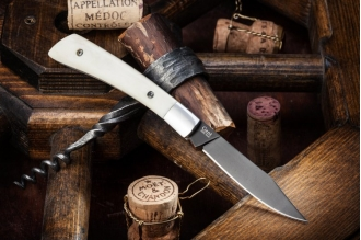 Нож складной Gent (AUS-8, B-Titanium) Kizlyar Supreme, Россия