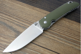 Нож складной JIN-1 (green) Steelclaw