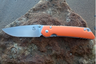 Складной нож JIN-1 (D2, orange) Steelclaw, КНР