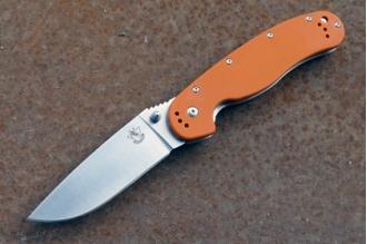Нож складной «Крыса» (orange) Steelclaw, КНР