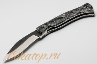 Нож складной Kukri (кожа ската) Citadel, Камбоджа