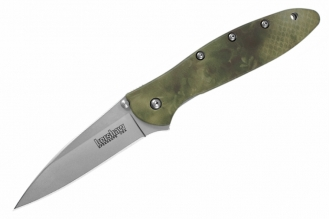 Складной нож Leek Camo (сталь 14C28N) Kershaw