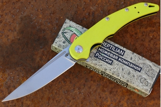 Нож складной «Кавалер» (lime) Reptilian