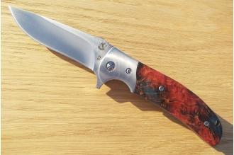 Нож складной «Резервист» (burl maple) Steelclaw, КНР