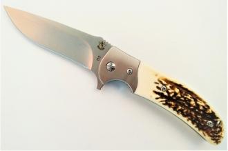 Нож складной «Резервист» (horn) Steelclaw, КНР