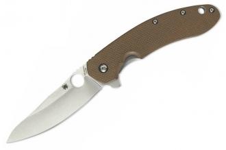 Складной нож Southard (CTS 204P, Titanium/Brown G-10) Spyderco