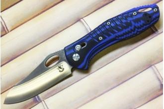 Нож складной «Аспид» (blue) Steelclaw