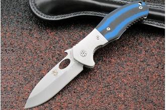 Нож складной «COC» (blue) Steelclaw