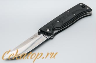 """Нож складной """"Стерх"""" (спуски от трети клинка, Elastron) Кизляр"""