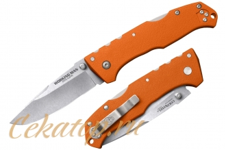 Нож складной Steve Austin Working Man (Blaze Orange) Cold Steel, США
