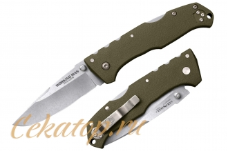 Нож складной Steve Austin Working Man (OD Green) Cold Steel, США