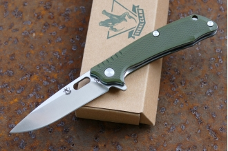 Нож складной «T03F» (green) Steelclaw, КНР