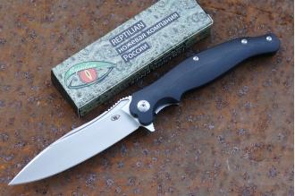 Нож складной «Вояж-3» (black) Reptilian