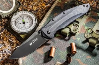 Нож складной Zedd (AUS-8, B-Titanium) Kizlyar Supreme, Россия