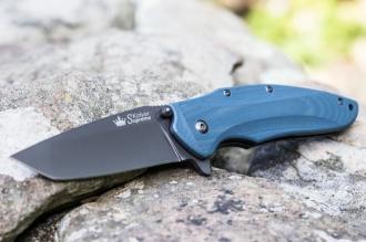 Нож складной Zorg (D2, G-Titanium) Kizlyar Supreme