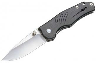Нож складной Geep (gray aluminum) Enlan