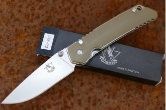 Нож складной «JIN-02» (drab gray)