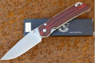 Нож складной «JIN-05» (red - black)