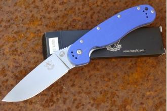 Нож  «Крыса-3» (blue) Steelclaw, КНР
