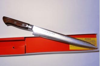 Нож слайсер для тонкой нарезки 240 мм Tus 16623 Sakai Takayuki, Япония