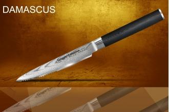 Стейковый нож Damascus Samura SD-0031/G-10