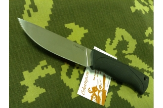 """Нож """"Стерх-1"""" (клинок без покрытия, рукоять Elastron) Кизляр, Россия"""