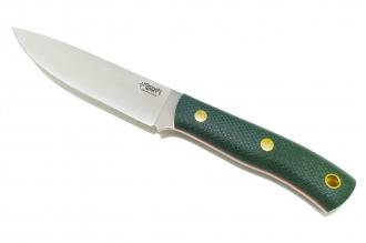 Нож TKK N690 (зелёная микарта с оружейной насечкой) Южный Крест, Россия
