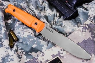 Нож тренировочный Delta Orange (без ножен) Kizlyar Supreme