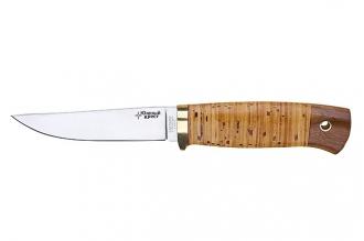 Нож Удобный (440C, береста) Южный Крест, Россия