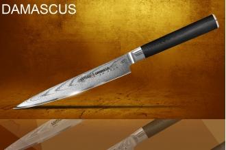 Универсальный нож Damascus Samura SD-0023/G-10
